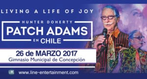 Conferencia de Patch Adams en Concepción